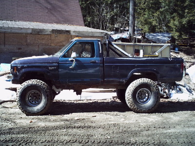 1988 ford ranger 8 suspension lift 3 body lift 395 x 155 micky thompson tires